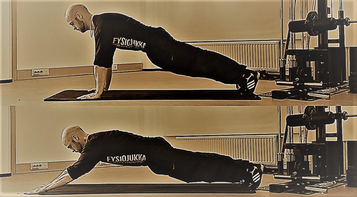 Keskivartalon isometrinen harjoittelu